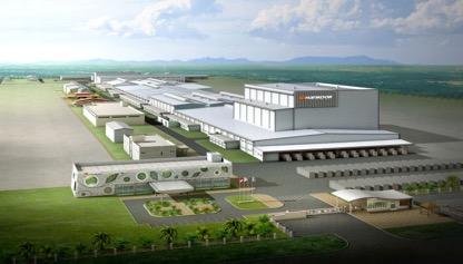 韩泰轮胎(印尼)生产基地